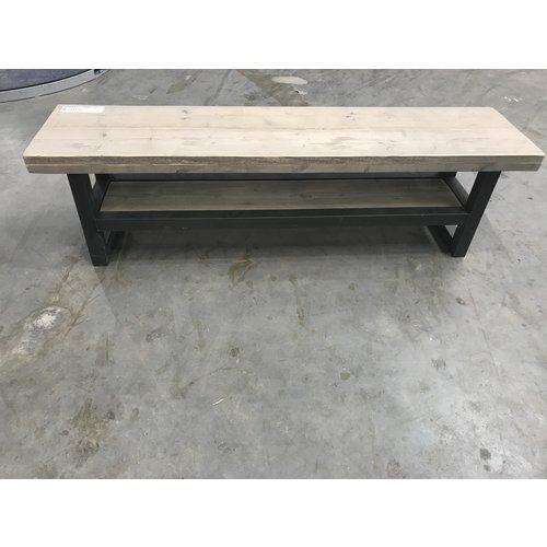 Steigerhout meubel 11 - 160 x 38,5 x 45,5