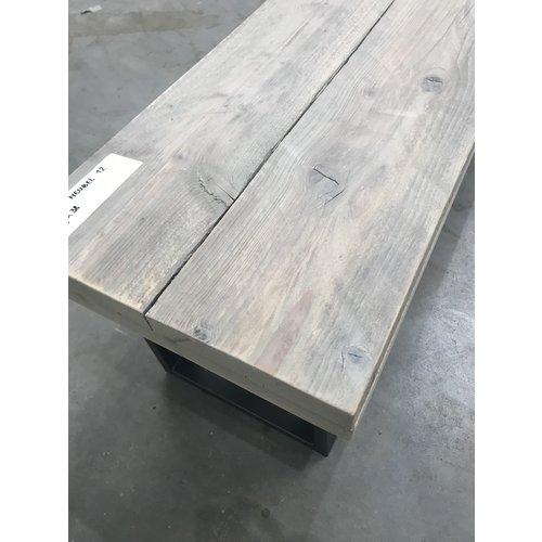 Steigerhout meubel 12 - 180 x 39 x 38