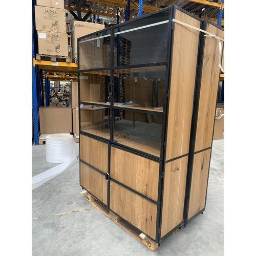 Buffetkast Iron & Oak 140 cm - Donker TL
