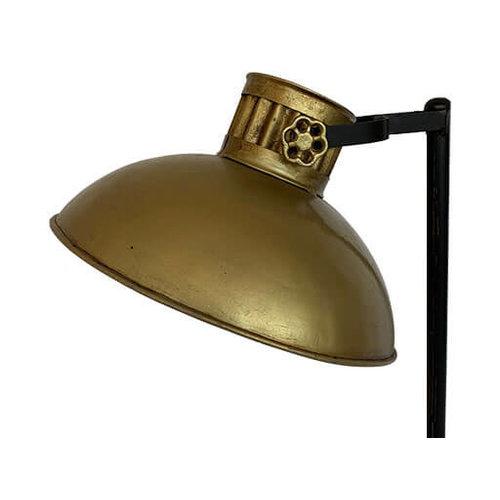 Vloerlamp goud