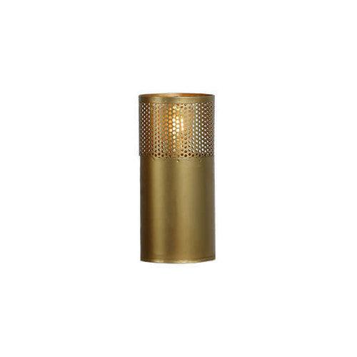 Tafellamp cilinder goud