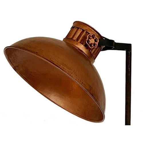 Vloerlamp koper