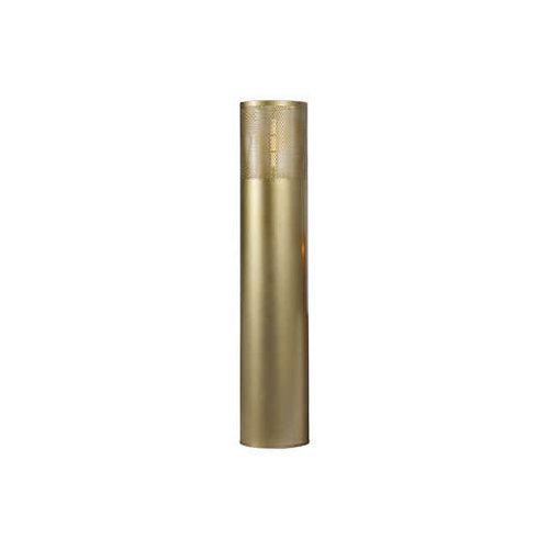 Vloerlamp cilinder goud