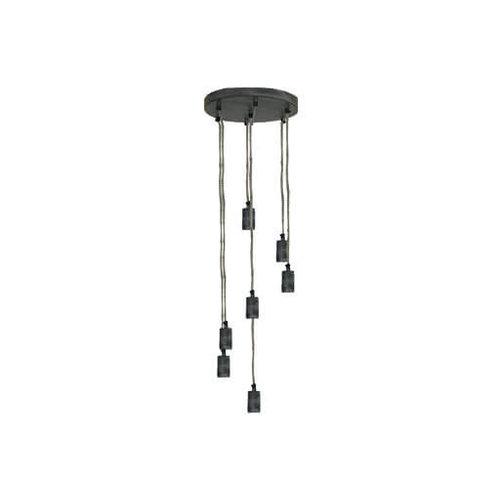 Hanglamp ijzer 7 lamp
