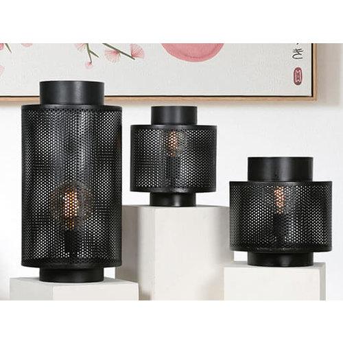 Tafellamp zwart L 55 cm
