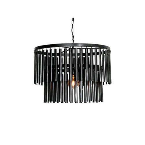 Hanglamp zwart Ø 60 cm