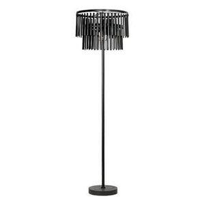 Vloerlamp zwart