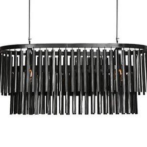 Hanglamp 90 cm zwart
