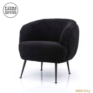 ByBoo Fauteuil Babe Black