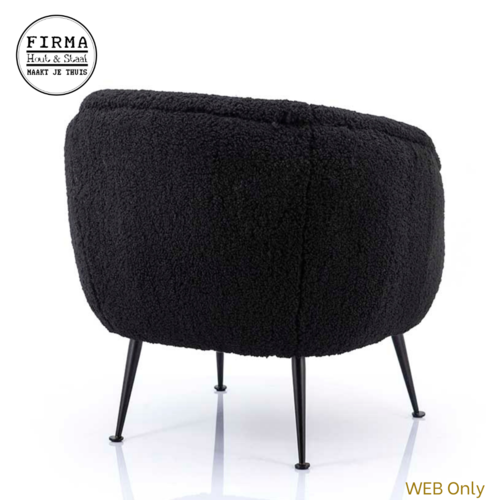 ByBoo Fauteuil Babe Black By Boo