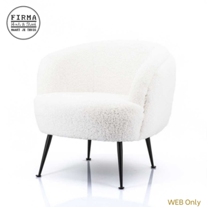 ByBoo Fauteuil Babe White