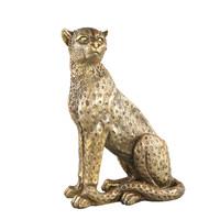 Beeld Leopard Gold L
