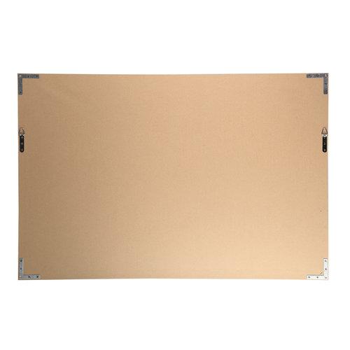 Melani Glass Art wall picture gold women face