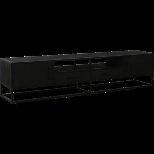 TV meubel Vigo zwart 220 cm