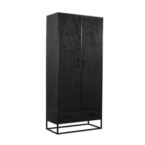 Kast Vigo zwart 90 cm