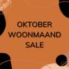 Oktober woonmaand acties