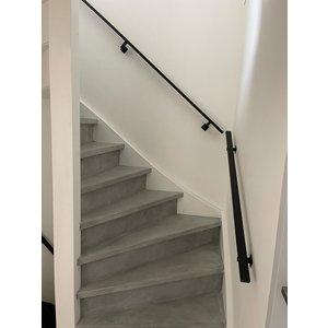 Stalen trapleuningen - koker 2x4
