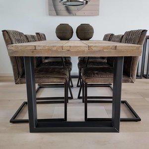 Eettafel U-frame