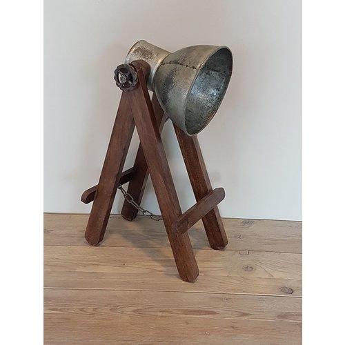 Tafellamp staal