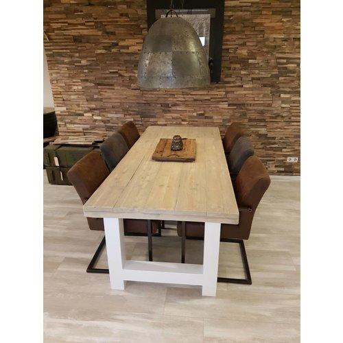 Eettafel H-frame