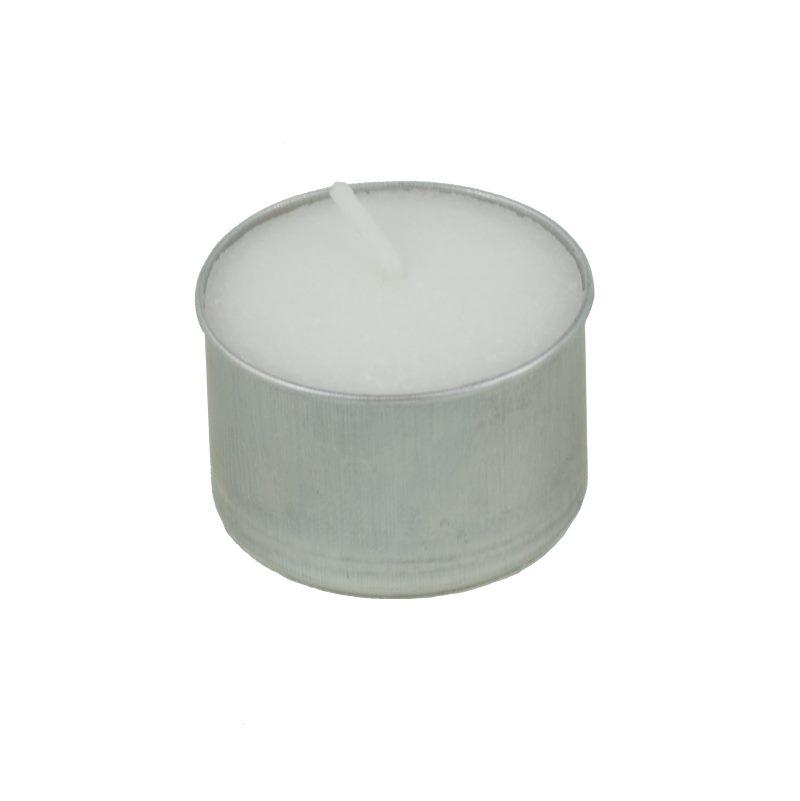 Pritogo Teelichter Ohne Parf/üm /Ø 3,8 * 2,5 cm Brenndauer: 8 Stunden 100-St/ück Alu
