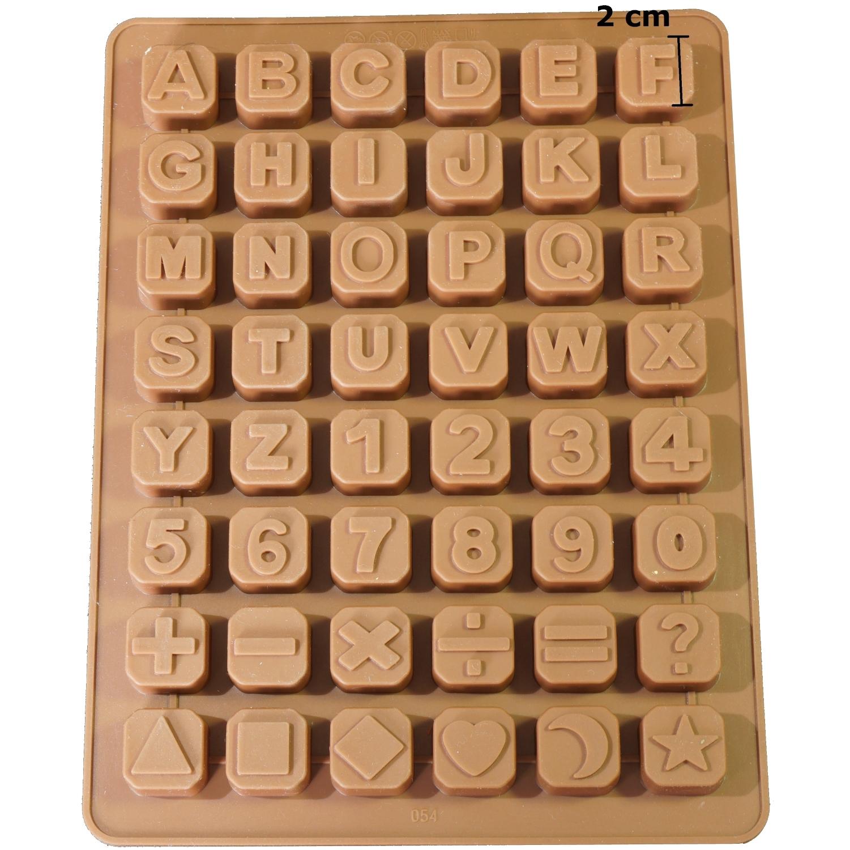 3 PCS Buchstaben ABC Alphabet Letter Silikon Form Ausstecher Tortendeko Fondant