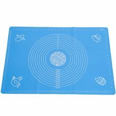 Seifenprofis Seifenprofis® Rollmatte Backmatte XXL 65 x 45 cm aus Silikon (Blau)