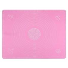 Seifenprofis Seifenprofis® Rollmatte Backmatte XXL 65 x 45 cm (Blau/Rosa) aus Silikon