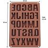 Buchstaben ABC XXL - Silikonform Seifenform Duftsteinform Backform - Copy
