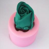 Rose 3D groß - Silikonform Seifenform Duftsteinform Backform