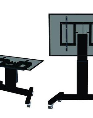Newstar M2500TBLACK Elektrische TV Standaard