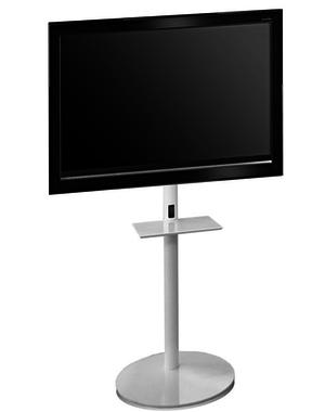 L&C Design Pedestal 1 Wit TV Standaard
