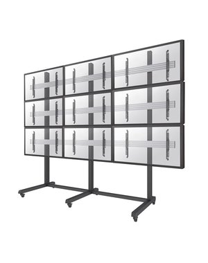 NeoMounts Pro NMPRO-M33 Verrijdbare Videowall Standaard