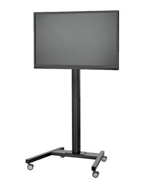 Vogel's SET T 2064 Black - 207 cm Verrijdbare TV Standaard