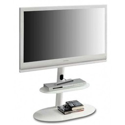L&C Design Screen Tower Wit TV Standaard