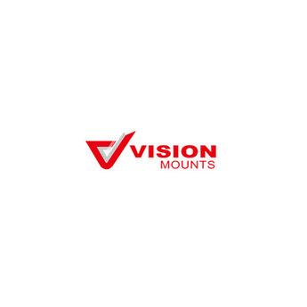 VisionMounts ST62 TV Standaard Zwart