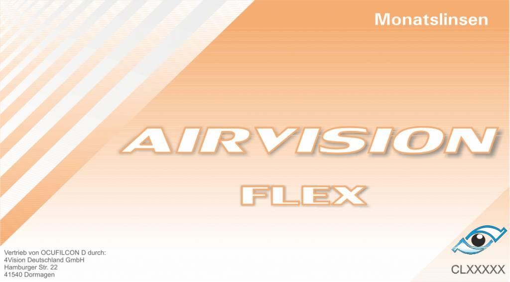 Airvision Flex 6er Box (Biomedics 55 UV)