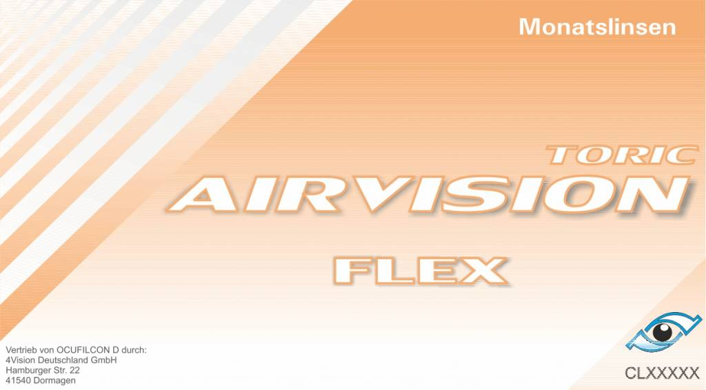 Airvision Flex Toric 6er Box (Biomedics 55 Toric)