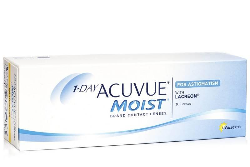 Acuvue 1-Day Moist for Astigmatism 30er Box