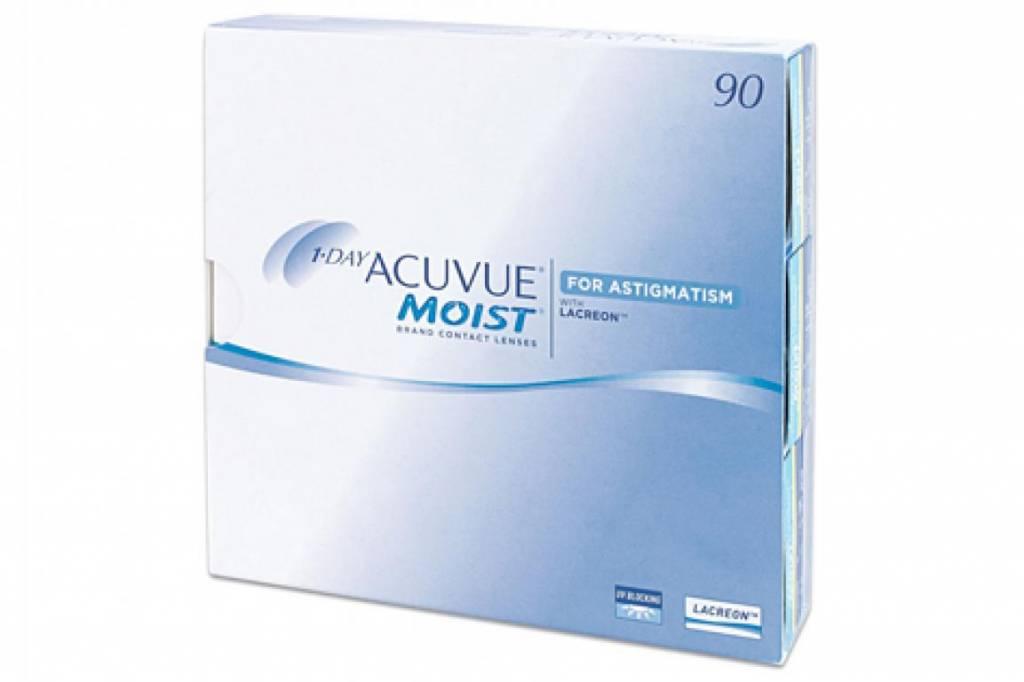 Acuvue 1-Day Moist for Astigmatism 90er Box