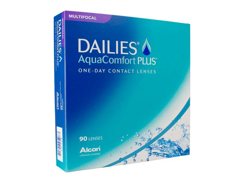 Focus Dailies Aqua Comfort Plus Multifocal 90er Box