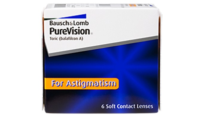 PureVision for Astigmatism 6er Box