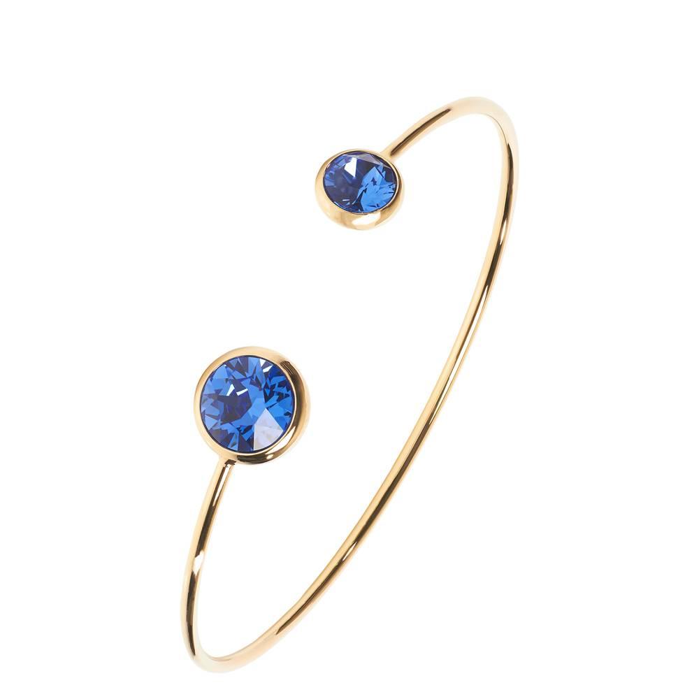 Punto gold/blau