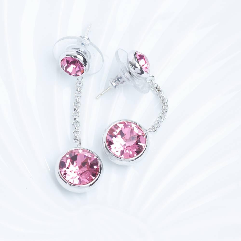 Ohrringe/Ohrstecker Thunderball Mini rosa