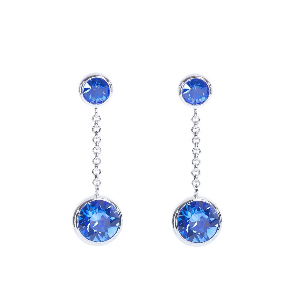 Ohrringe/Ohrstecker Thunderball Mini blau