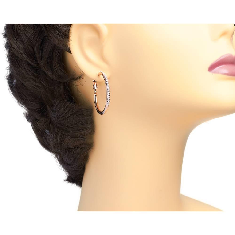Ohrringe Orbit - Roségold vergoldet