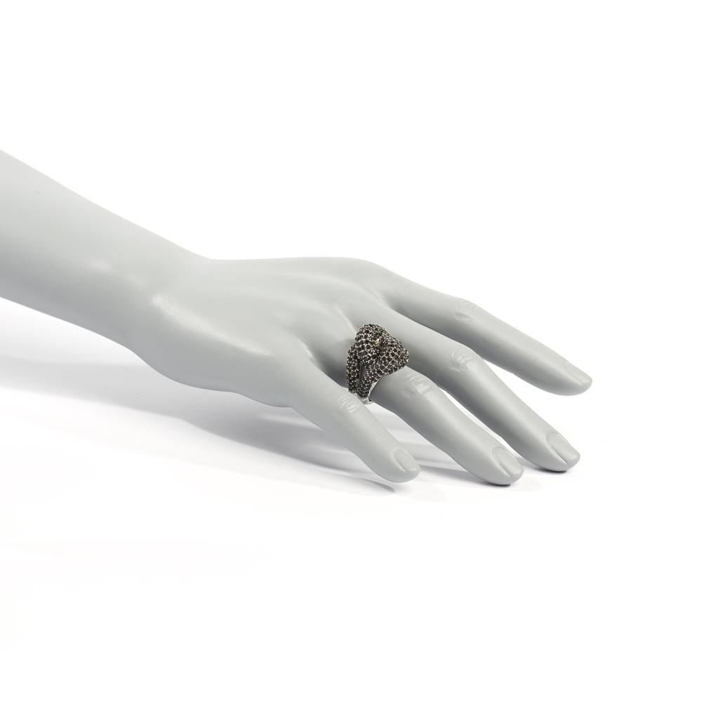 Ring Pompidou schwarz