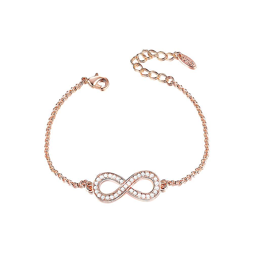 Armband Infinity rosé