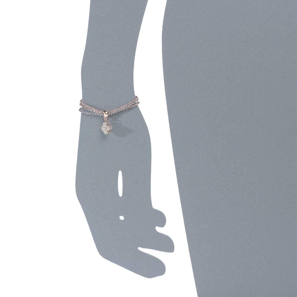 Armband Klee triple - 3-farbig