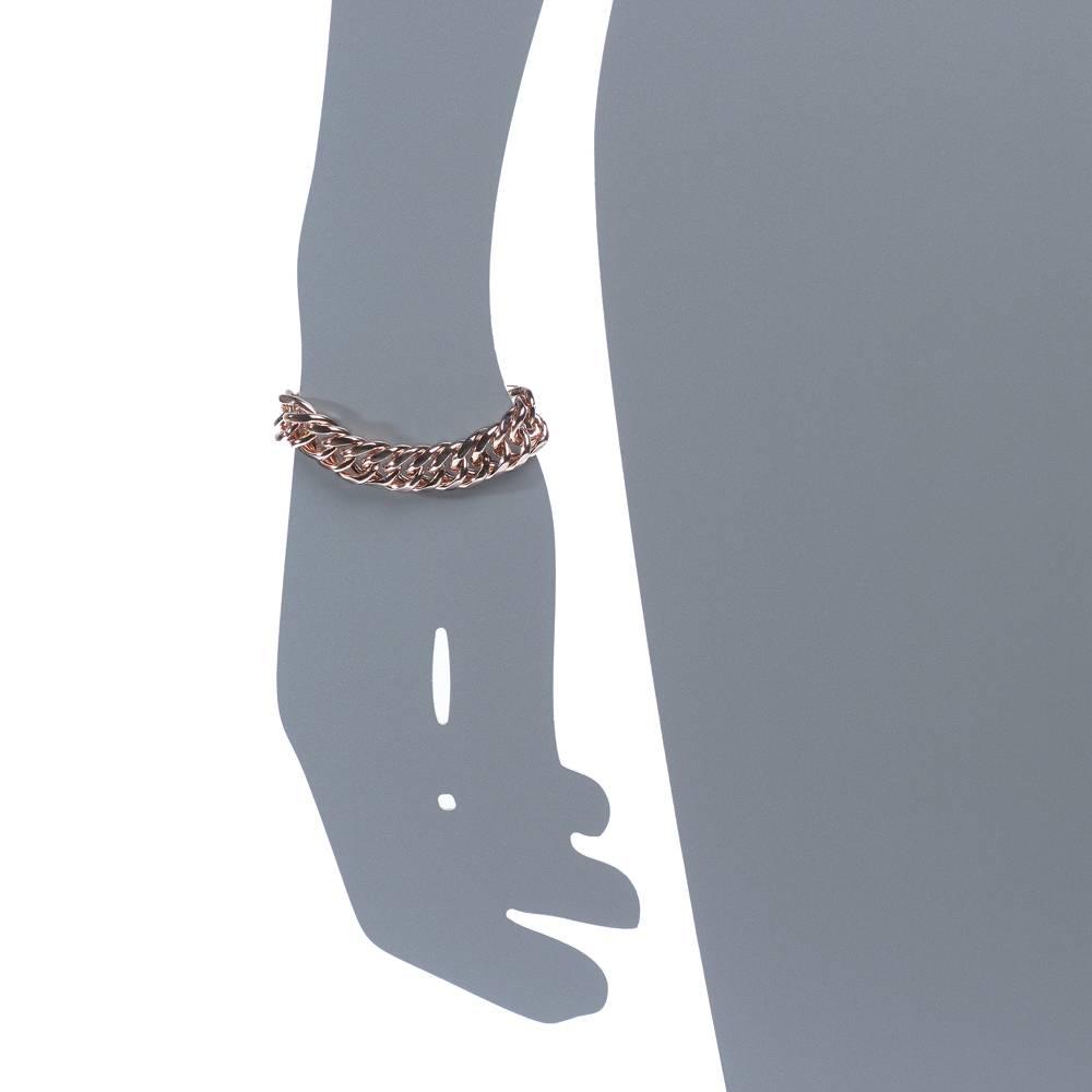 Armband Viper - Rosé vergoldet